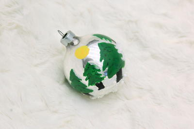 Evergreen Mountain Ornament