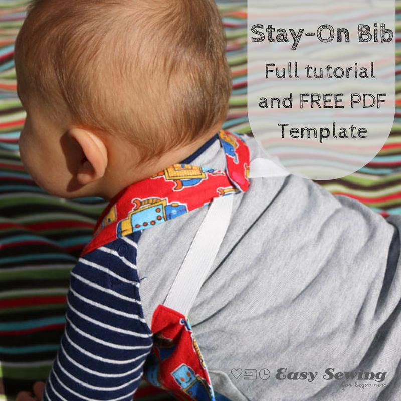 Reversible Stay On Bib Pattern Allfreesewing Com