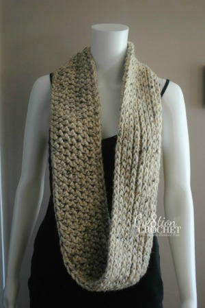 Decadent Crochet Scarf Pattern