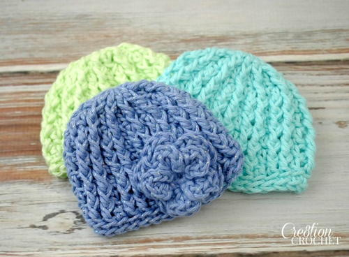 Beautiful Beanie Crochet Baby Hat