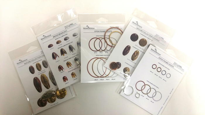 Beautiful Nature Collection Charms, Hoops and Beadcaps Giveaway