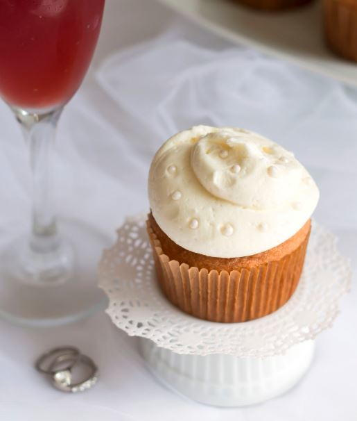 Rose Champagne Gluten Free Cupcakes ...