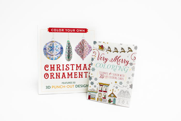 Color Your Own Christmas Cards and Ornaments Giveaway