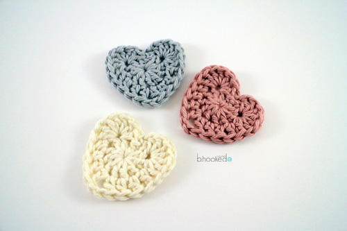 Easy Crochet Hearts Favecraftscom