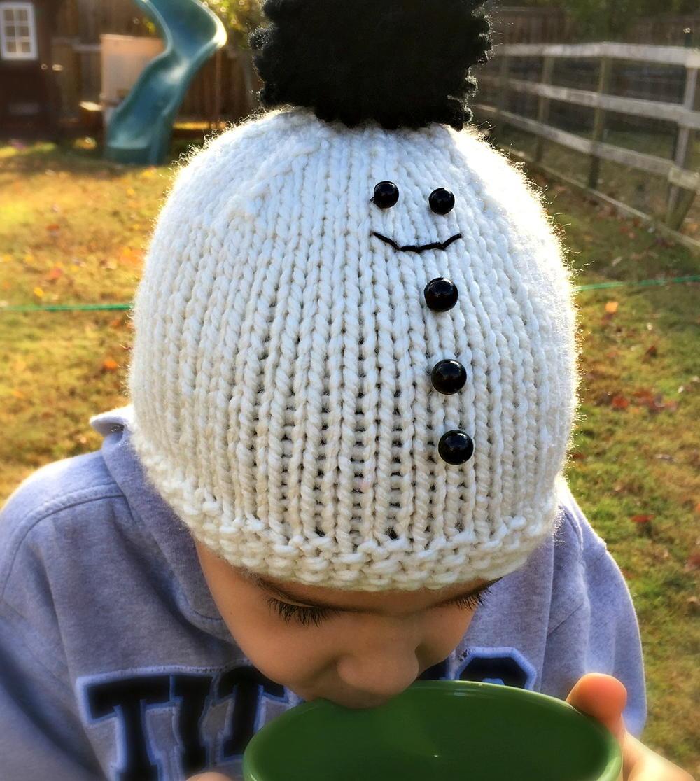 Christian's Snowman Hat