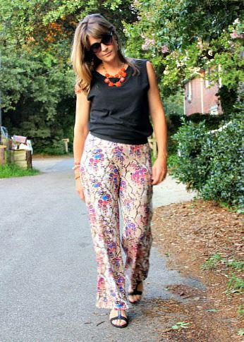 Easy Diy Knit Pants Tutorial Allfreesewing Com