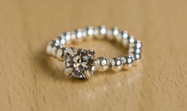 Elastic Diy Diamond Ring Allfreejewelrymaking Com