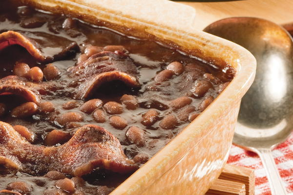 Smoky Mountain Baked Beans | MrFood.com