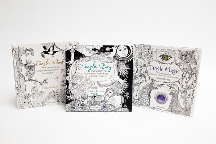 Hidden Jewels Coloring Books Bundle Giveaway
