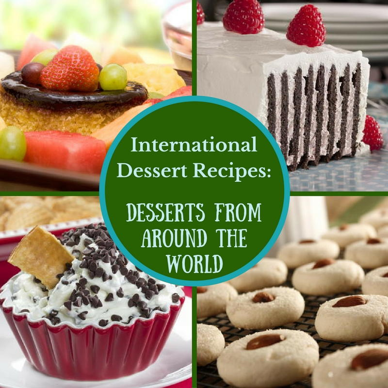 International dessert recipes 12 desserts from around the for Best dessert recipes in the world