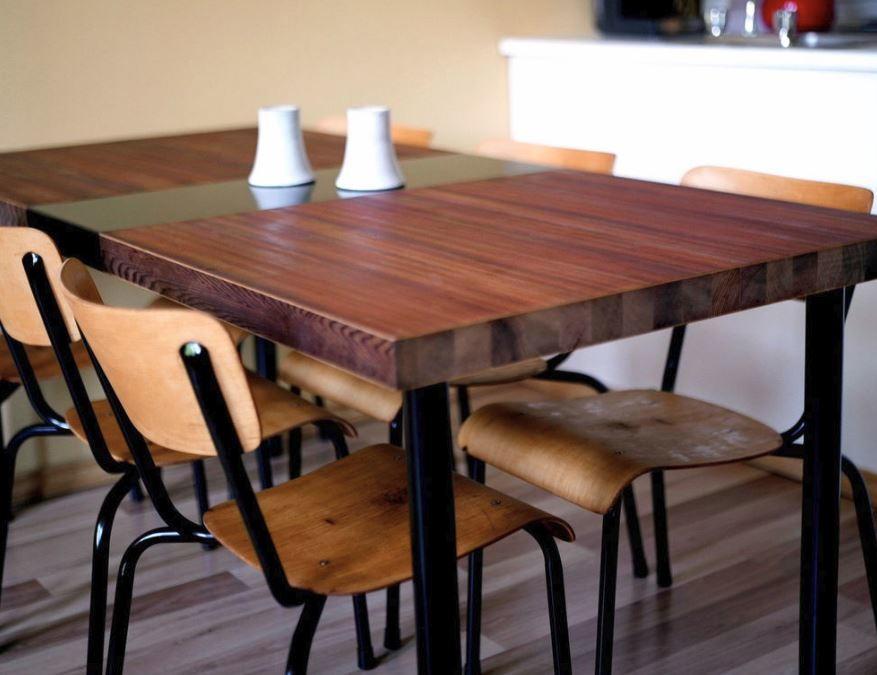 Diy Wood Table From Old Door Craft Diyideacenter
