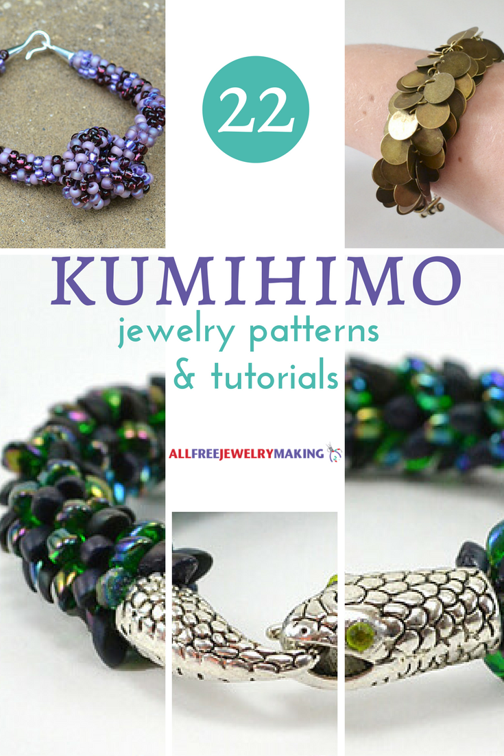 22 Kumihimo Jewelry Patterns and Tutorials | AllFreeJewelryMaking.com