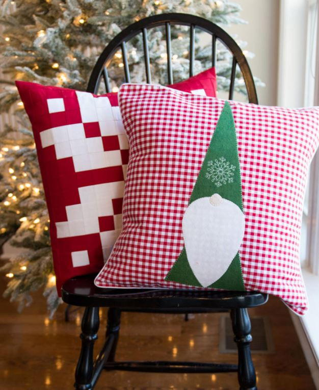 Christmas Elf Pillow Pattern Favequilts Com