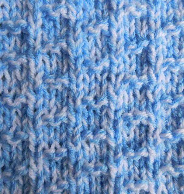 Nevis Chunky Baby Blanket | AllFreeKnitting.com