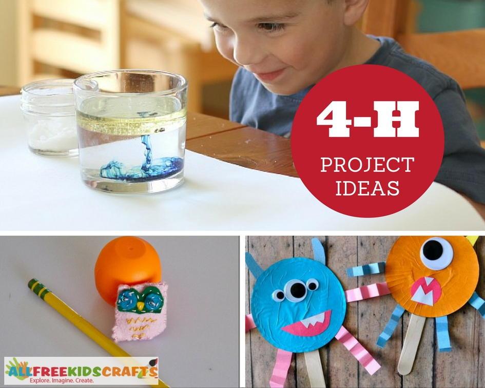 44 Best 4-H Project Ideas Ever | AllFreeKidsCrafts.com