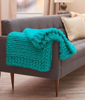 Cool Comforts Knit Throw