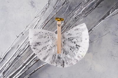 Paper Angel DIY Ornament