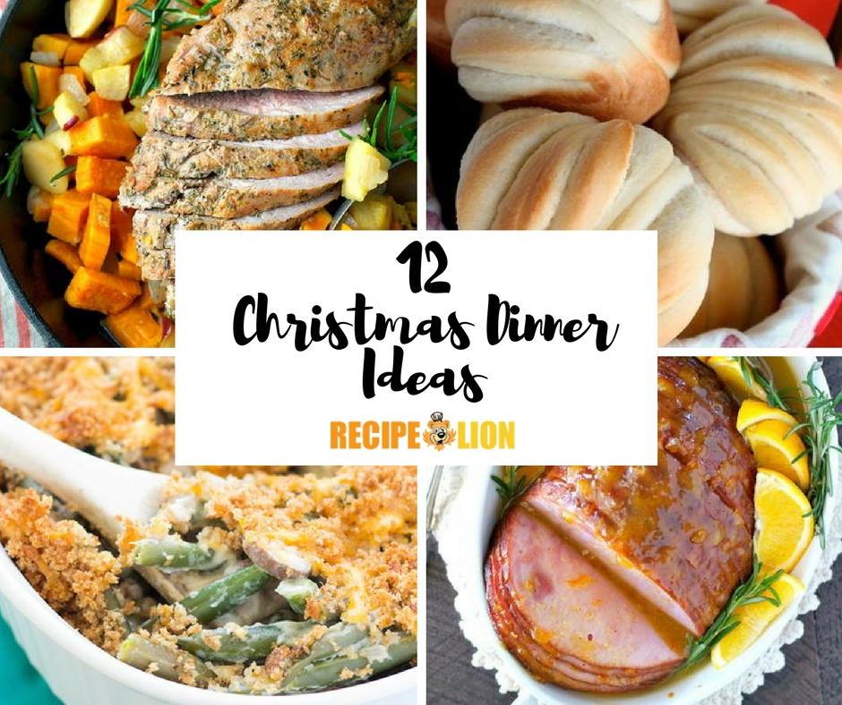 12 christmas dinner ideas for Southern christmas dinner menu ideas