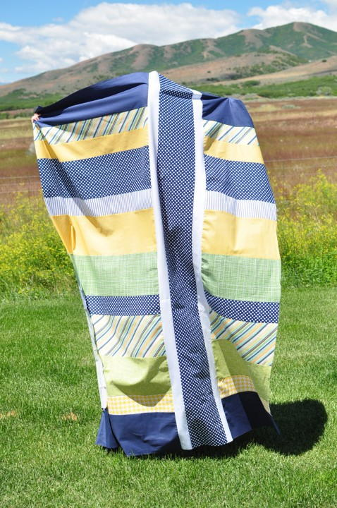 Easy Strip Quilt Tutorial Favequilts Com