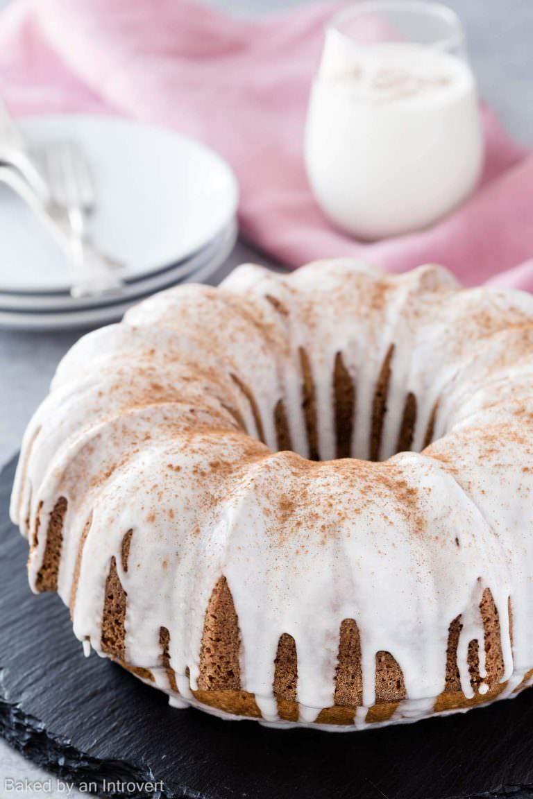 Eggnog Cake Recipelion Com