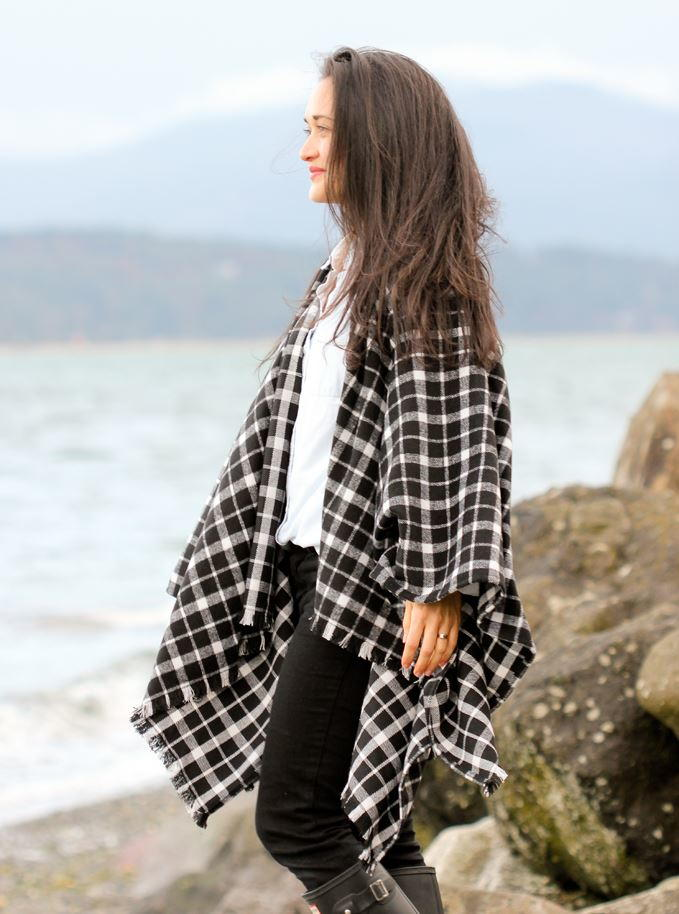 Winter Layers Cape Scarf Tutorial Allfreesewing Com