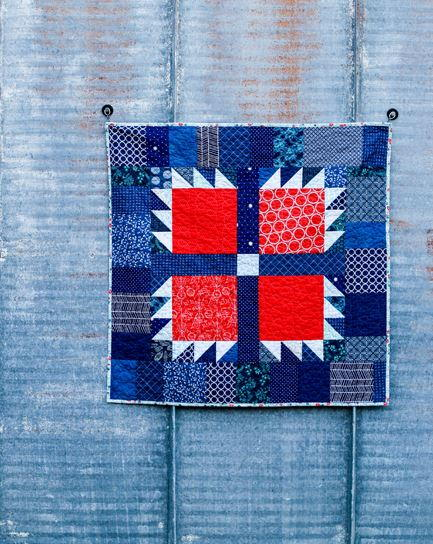 Scrappy Bear Paw Baby Quilt Tutorial Favequilts Com