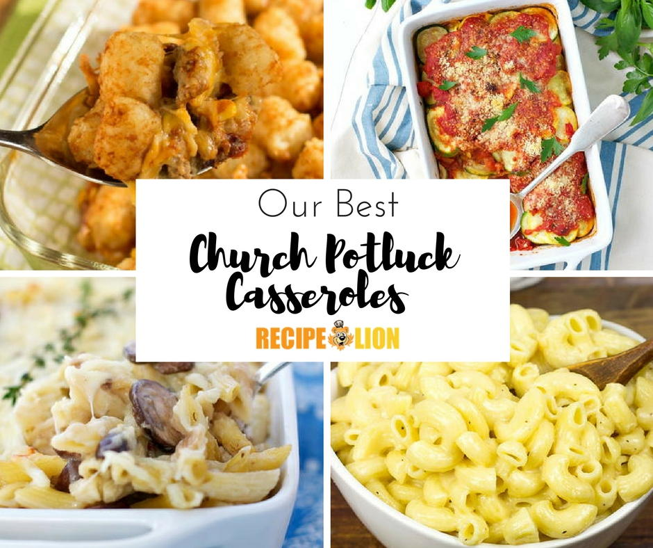 Church Potluck Recipes: 19 Best