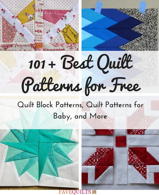 101 Best Quilt Patterns For Free Quilt Block Patterns