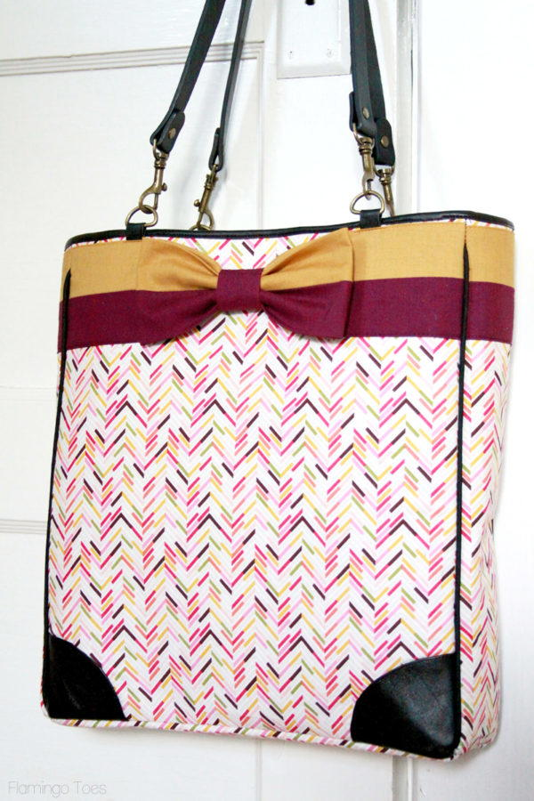 Kate Spade Inspired Bow Tote Tutorial Allfreesewing Com
