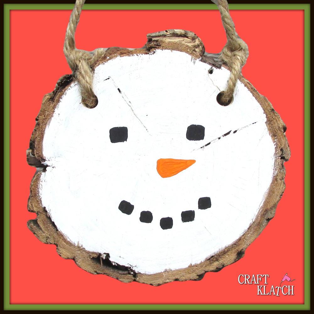 Easy Painted Snowman Plaque Diy Allfreechristmascrafts Com