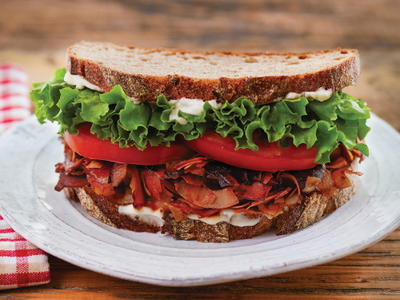 The Famous Coconut BLT