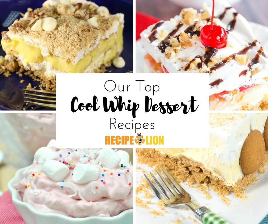26 Easy Cool Whip Recipes (Desserts & More)   RecipeLion com