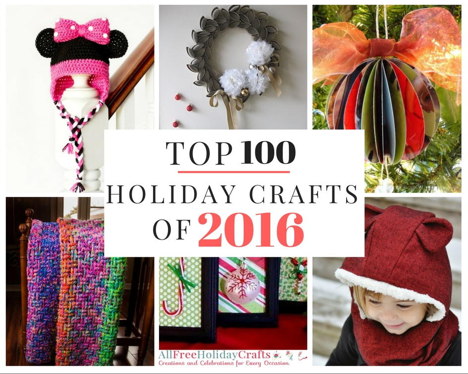 Top 100 holiday craft ideas of 2016 for All free holiday crafts
