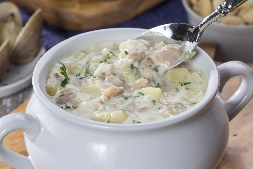New england clam chowder for New england fish chowder