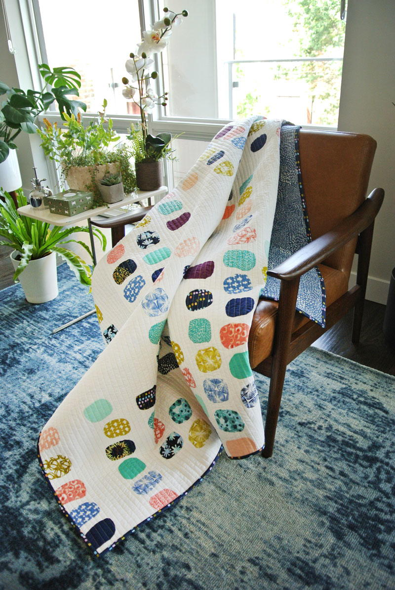Aria Watercolor Quilt Pattern Favequilts Com