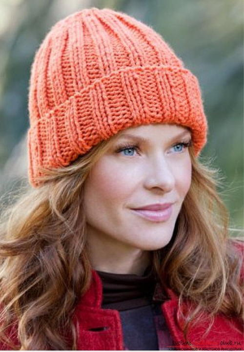 Knitting Hat Patterns For Beginners : Beginner s favorite knitted hat favecrafts