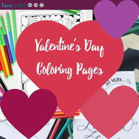 28 Valentine's Day Coloring Pages