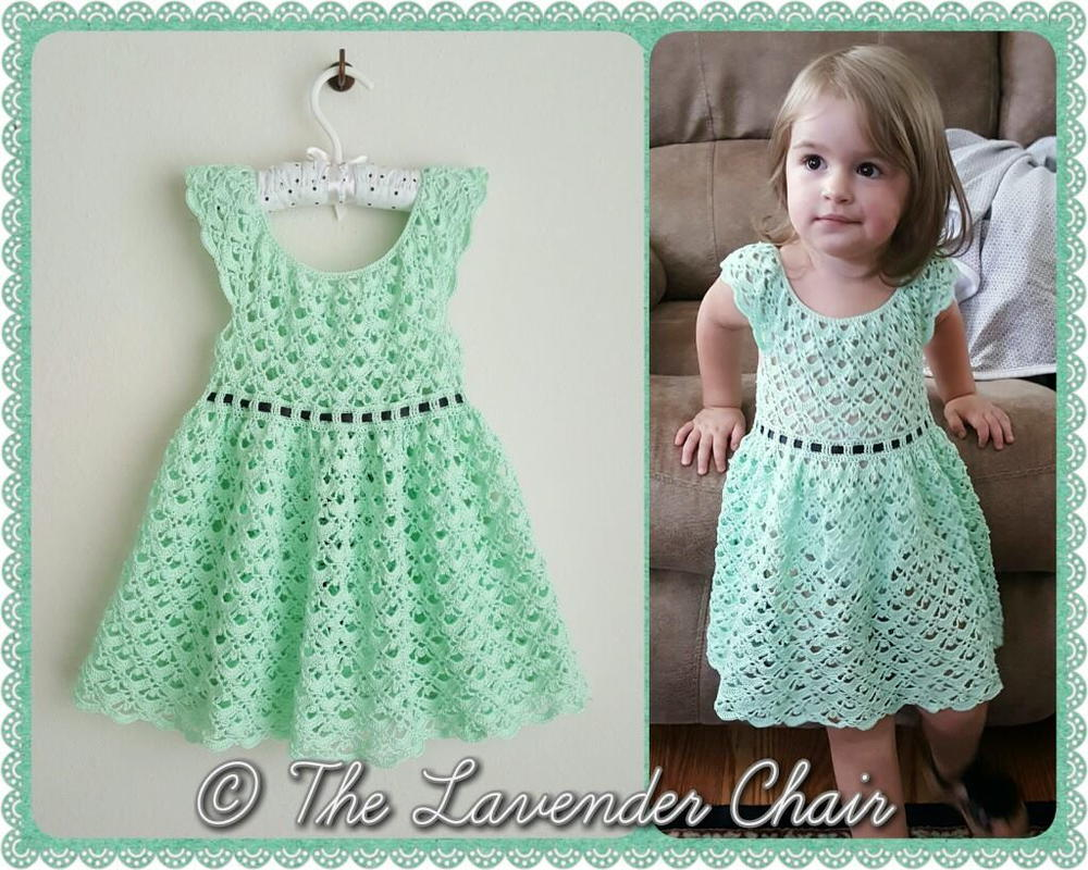 Gemstone Lace Dress Allfreecrochet Com