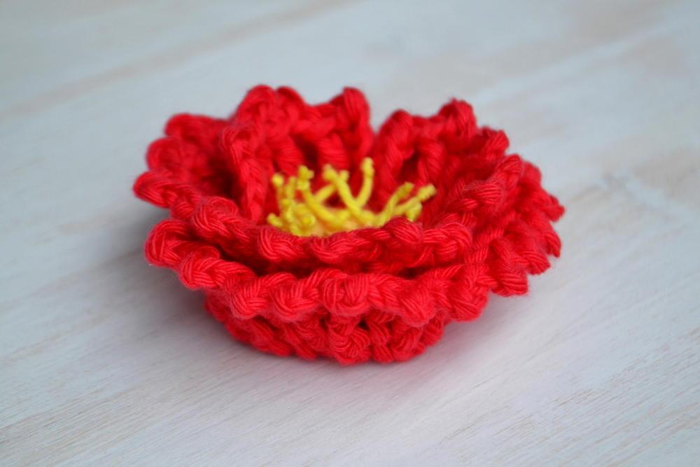 Island Poppy Crochet Flower Allfreecrochet Com
