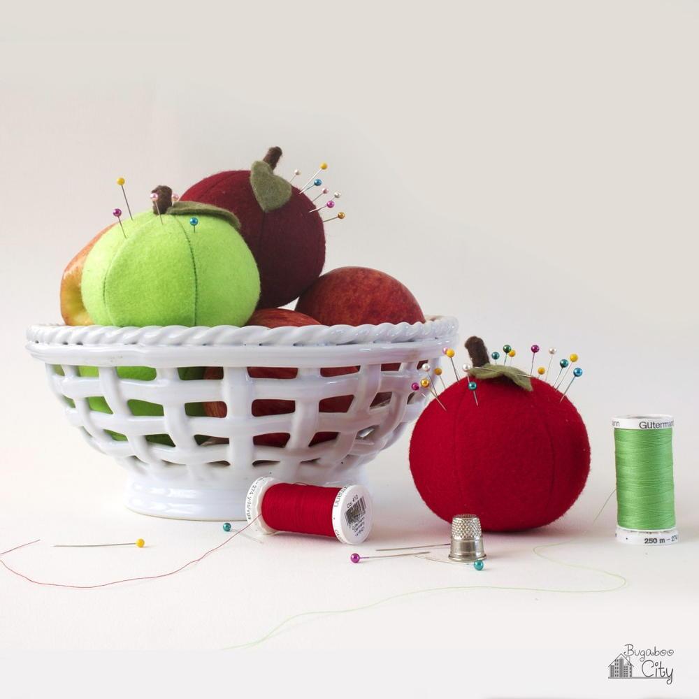 Apple A Day Pincushion Pattern