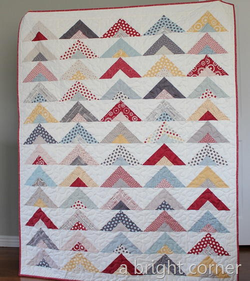 Strip Quilting Patterns Free : Simple Strip Tube Quilt Tutorial FaveQuilts.com