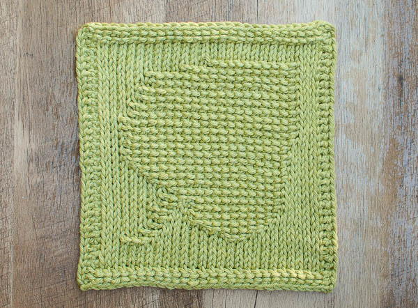 Tunisian Crochet Leaf Dishcloth Allfreecrochet Com