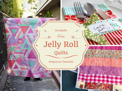 Free Jelly Roll Quilt Patterns  New Jelly Roll Quilts