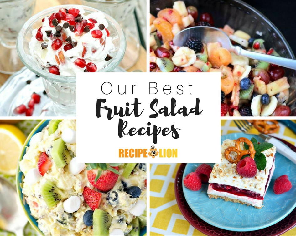 12 Easy Fruit Salad Recipes Recipelion Com