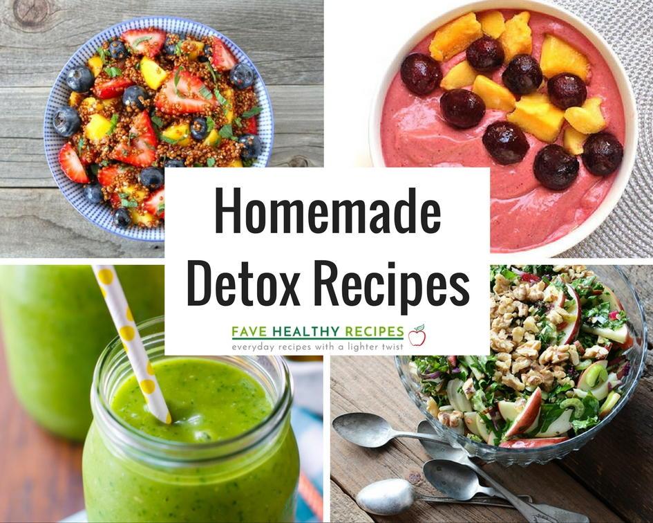 21 Incredible Homemade Detox Recipes