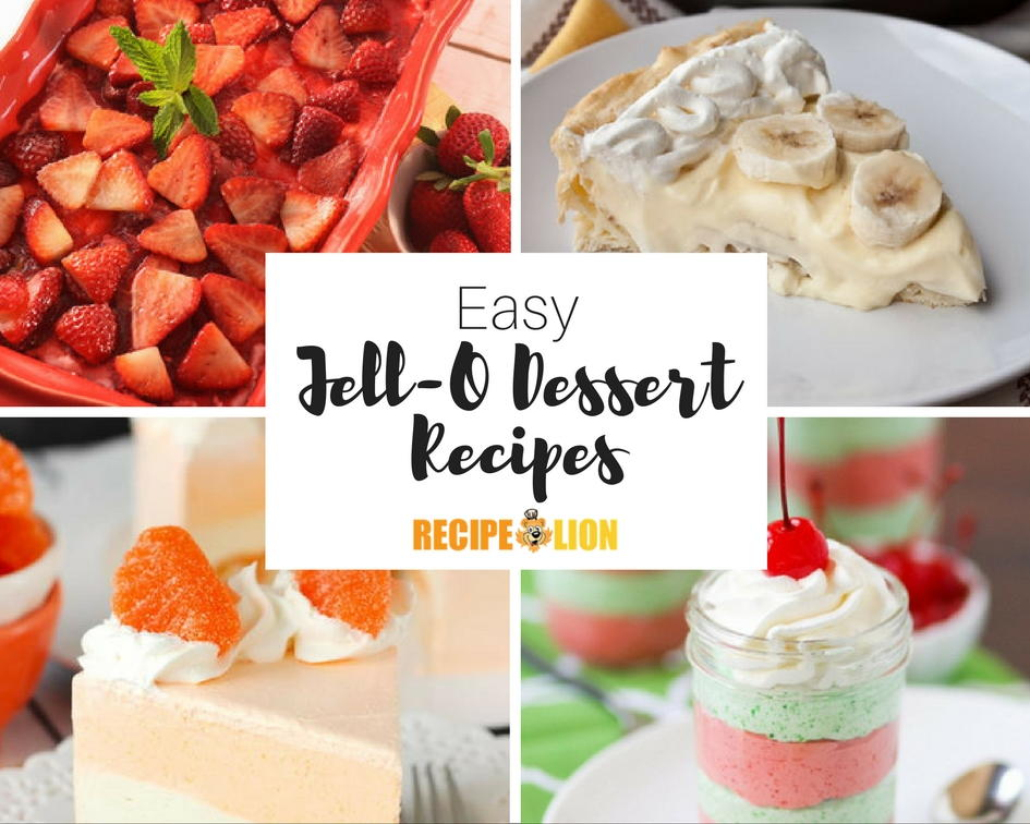 15 Easy Jello Dessert Recipes