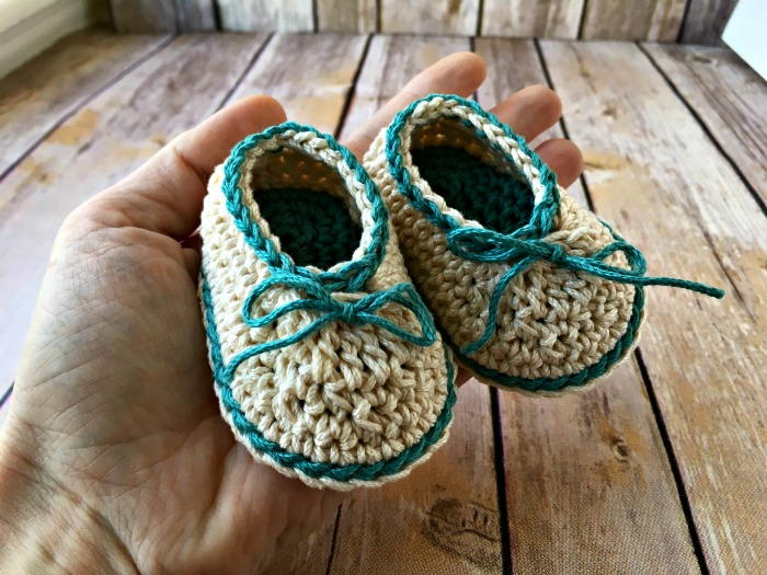 Basic Baby Booties Favecrafts