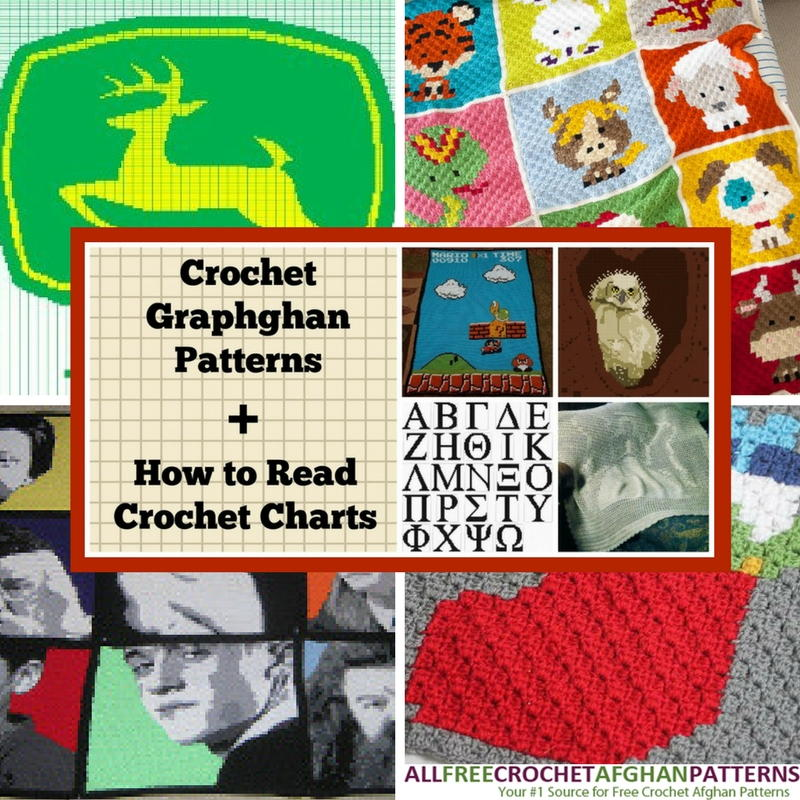 41 Crochet Graphghan Patterns + How to Read Crochet Charts ...