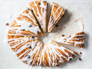 Braided Almond-Cream Wreath (Kranzkuchen)