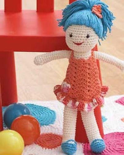 Quick And Easy Crochet Doll Allfreecrochetcom